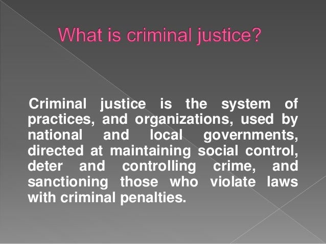 how do the main components of the criminal justice system interrelate with one another Without all the components of the criminal justice system the other does not work  efficiently we must have the law enforcement officers to enforce the law by.