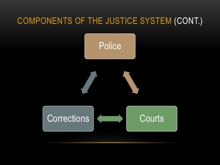 components of the criminal justice system Criminal justice is the system of practices and institutions of governments directed at upholding social control, deterring and mitigating crime.