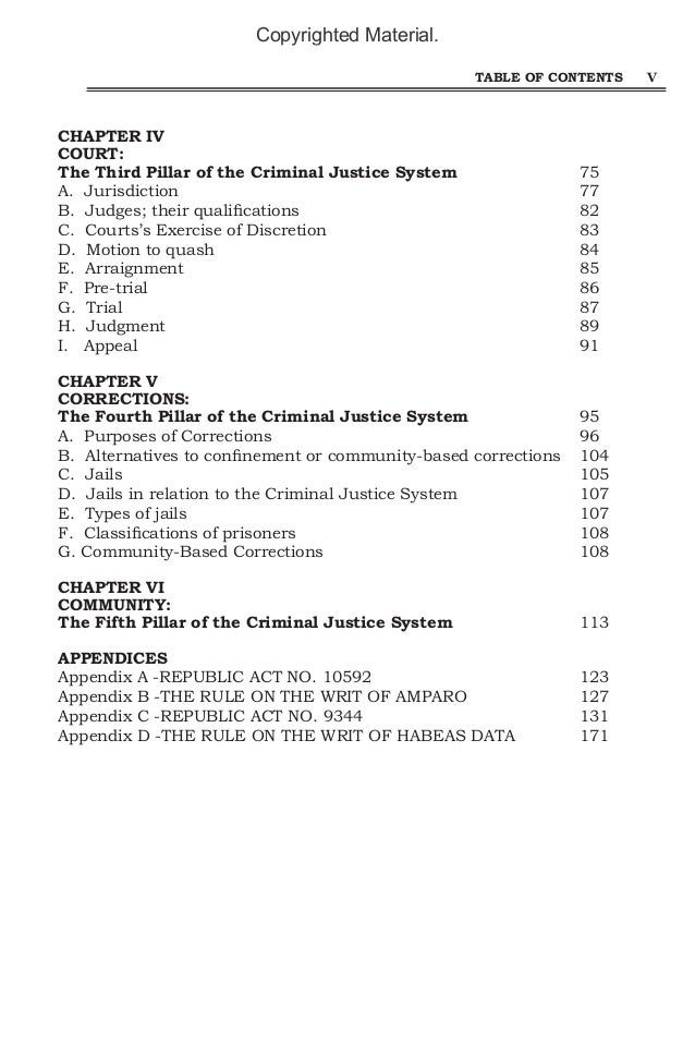 the task for discretion within any arrest justice system essay