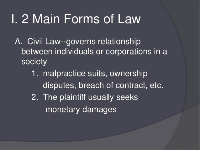 crim notes Criminal law case briefs involve the prosecution of an individual, or party, for a criminal act criminal cases differ from civil law.