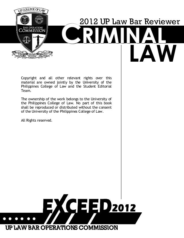 crim law 1 reviewer 1 massachusetts school of law criminal law professors coyne/puller final exam fall 2006 ss#: the.
