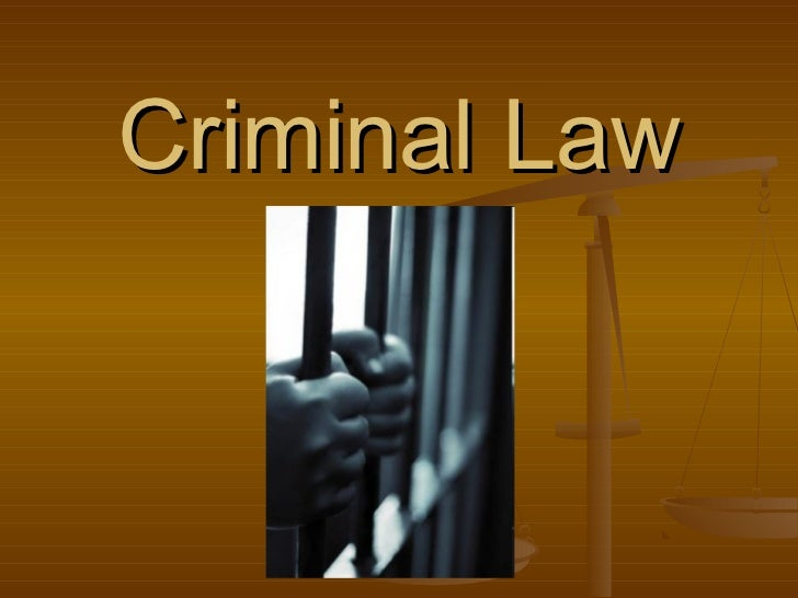 an analysis of the criminal law in canada The sources of substantive criminal law in canada are limited most offences are created by the criminal code, which prohibits conviction of an offence at common law .