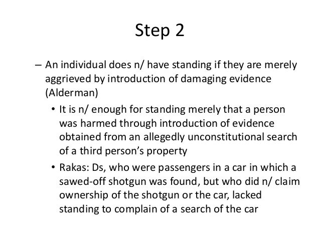 The Bullet Proof Checklist for Attacking a Fourth Amendment