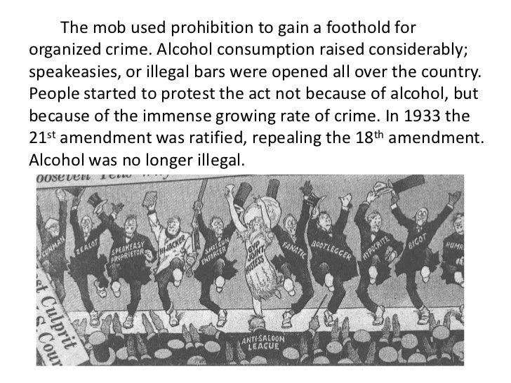 organized crime during the 1920s