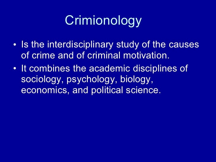 criminology why people commit crimes essay This is an article about social causes of crime and methods how to discourage people from  a wide range of factors to explain why a person would commit crimes.