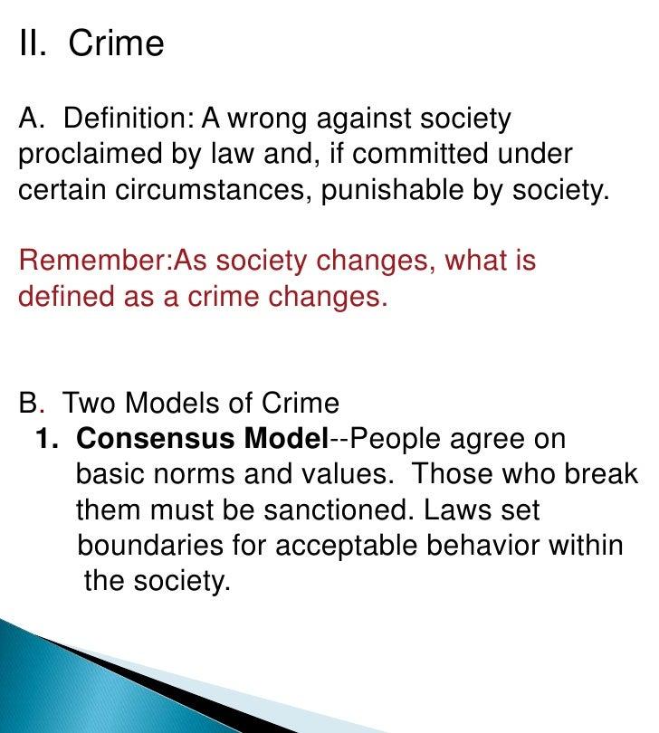criminology definition
