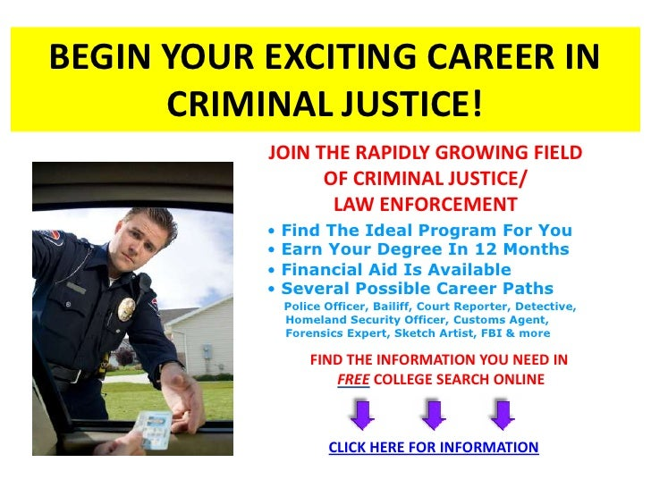 criminal justice careers criminologists Most criminologists have a bachelor's degree in criminal justice, sociology or psychology and often hold a phd or master's degree in behavioral sciences.