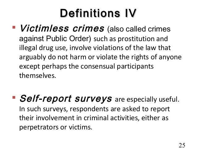 examples of victimless crimes