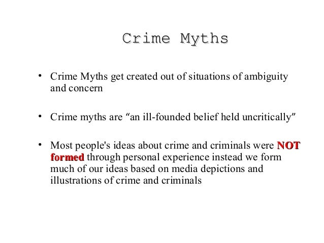 an analysis of the mythology of crime and criminal justice by kappeler blumberg and potter The mythology of crime and criminal justice [victor e kappeler, gary w potter]  on amazoncom free shipping on qualifying offers now in its fourth edition,.