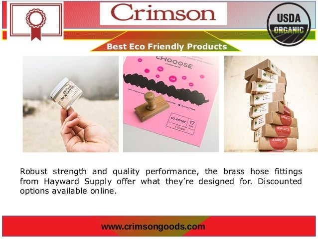 Buy Best Eco-Friendly Products Online | Crimson Goods