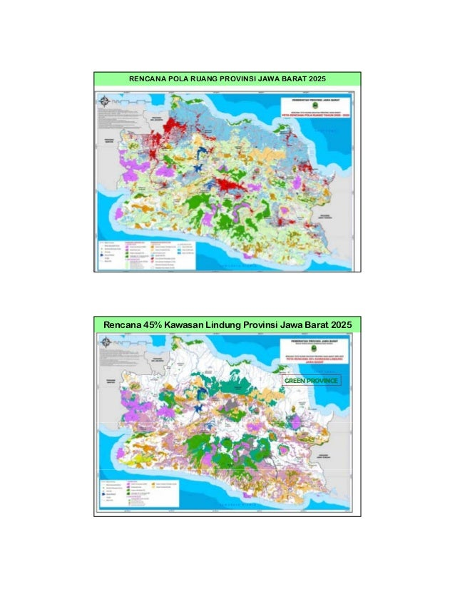 Citarum Roadmap And Investment Program Coordination Workshop Lampiran Cb Peta Pola Ruang Karawang