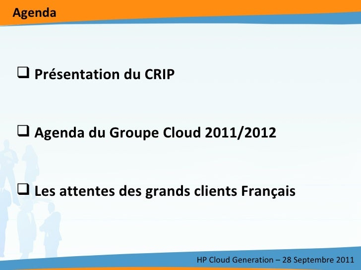 CRIP HP Cloud Generation Slide 2
