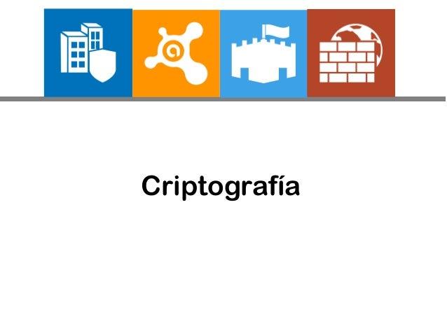 Criptografía