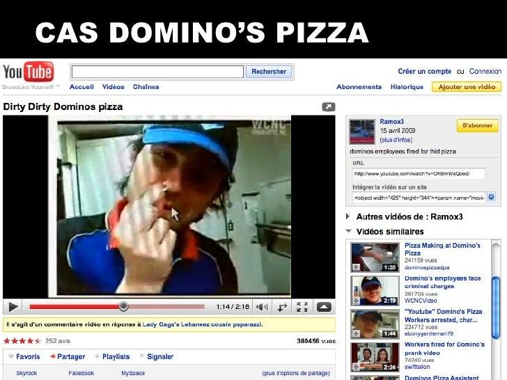Bad buzz e reputation de crise for Dominos pizza salon