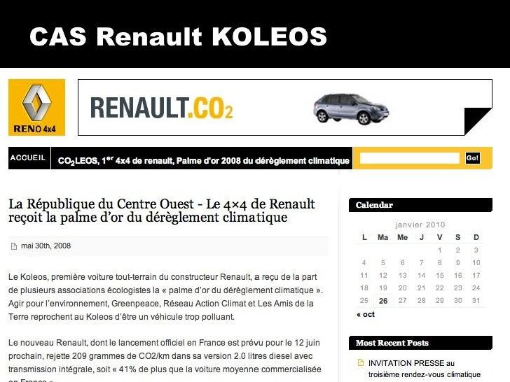 CAS Renault KOLEOS