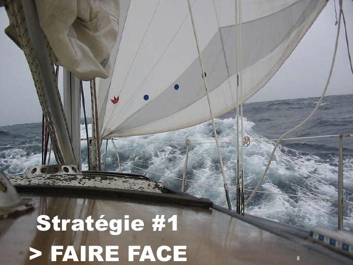 Stratégie #1  > FAIRE FACE