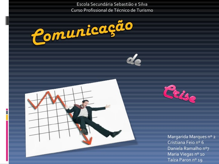 Margarida Marques nº 2  Cristiana Feio nº 6 Daniela Ramalho nº7 Maria Viegas nº 10 Taíza Paron nº 19 Escola Secundária Seb...