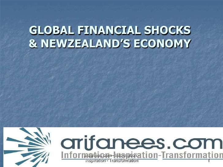 GLOBAL FINANCIAL SHOCKS & NEWZEALAND'S ECONOMY<br />arifanees.com - Information - Inspiration - Transformation<br />1<br />