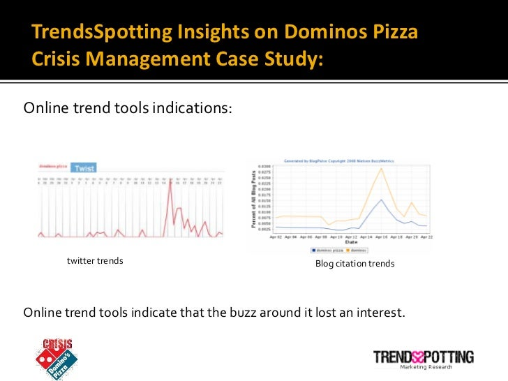 Domino's Pizza: A Crisis Management Case - UK Essays