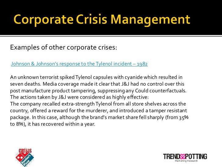 effective communication case study analysisthe tylenol crisis