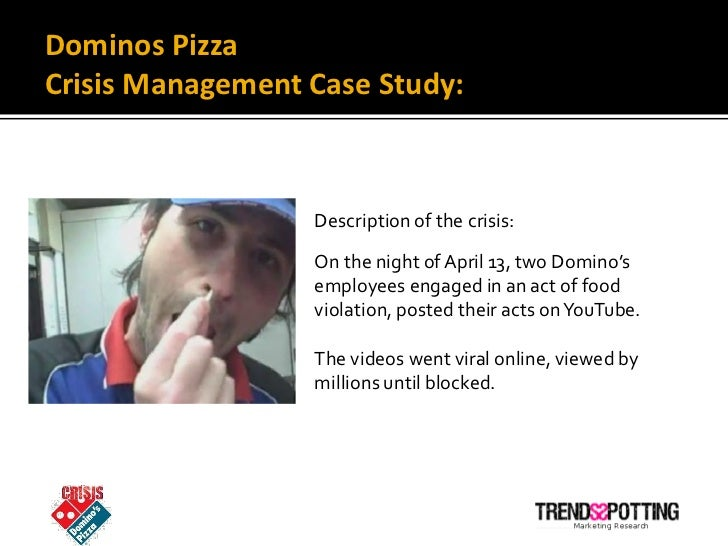 A Case Study of Domino's Pizza's Crisis Communication ...