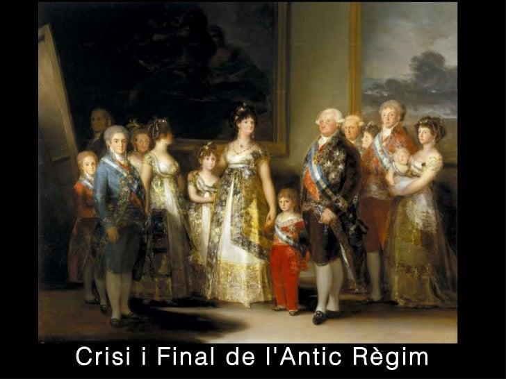 Crisi i Final de l'Antic Règim