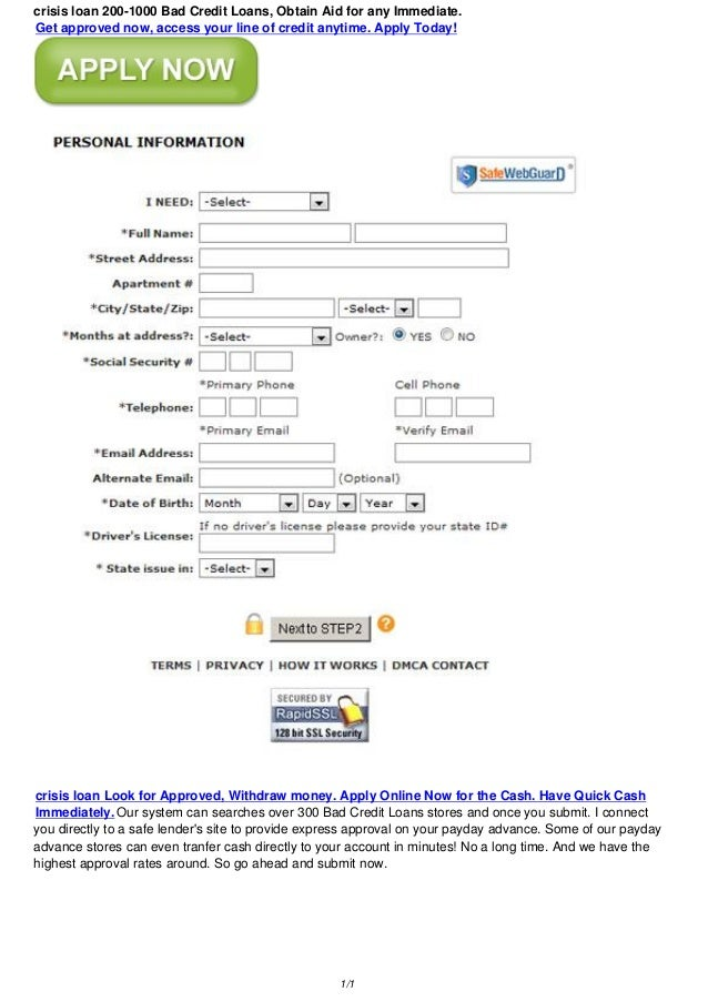 Crisis Loan 200 1000 Bad Credit Loans, Obtain Aid For Any Immediate.Get  Money Lending Contract Template