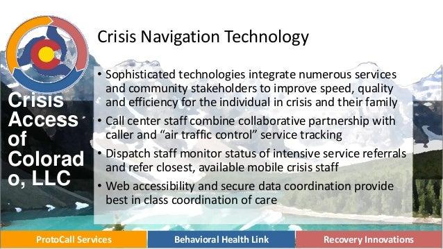 Crisis Access of Colorado 2013-10-26