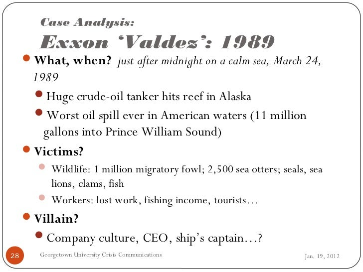 Project MUSE - Lessons from the Exxon Valdez Oil Spill: A ...