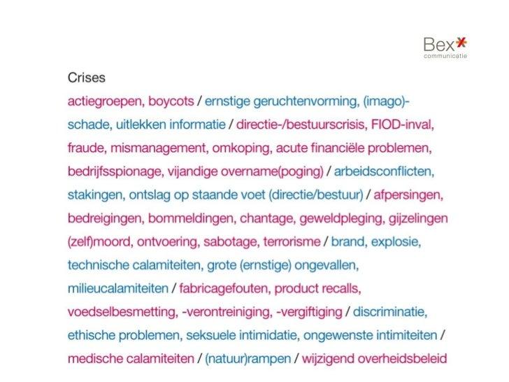 Crisiscommunicatiekoorddansen zonder vangnet                     Atrivé                     Houten, 21 februari 2012      ...