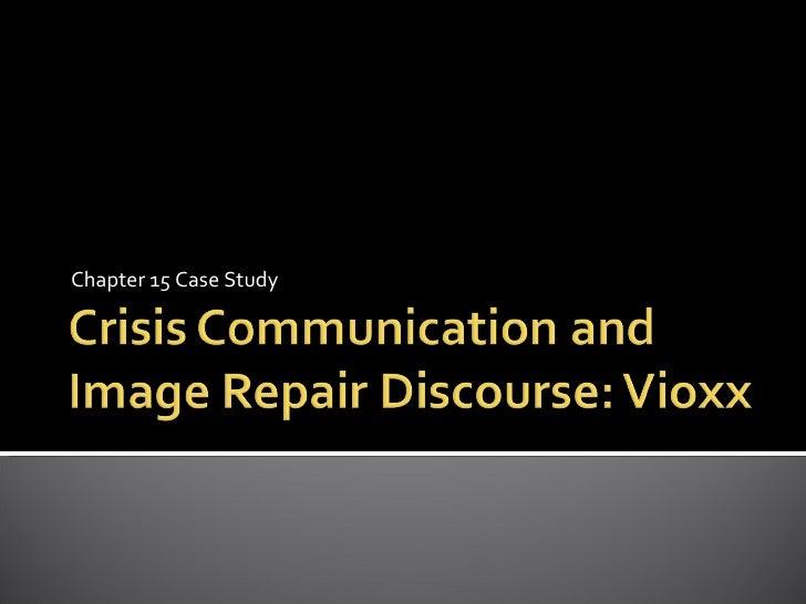 Crisis communication case studies