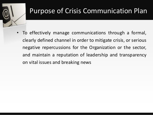 """organizational communication in crisis of diet It also gave the public the first real, main street glimpse of the financial crisis of 2008  a fad diet claiming you could """"lose fat by eating fat."""