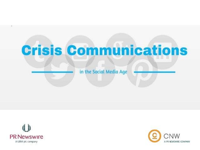 #CRISISCOMMS @PRNEWSWIRE @CNWGROUP Victoria Harres - @VictoriaHarres VP, Strategic Communications & Content PR Newswire Ge...