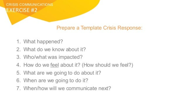 Before Disaster Strikes: Creating an Effective Crisis Communications …