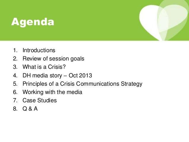 crisis communication strategy