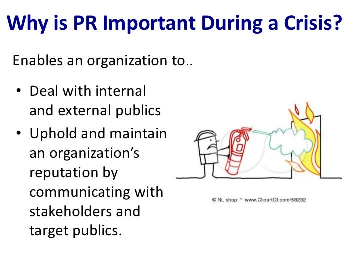 crisiscommunication final The third and final type of communication is reputation repair reputation repair is only used once the instructing and adjusting information have been provided the terms crisis management and crisis communications often are misused and over-used.