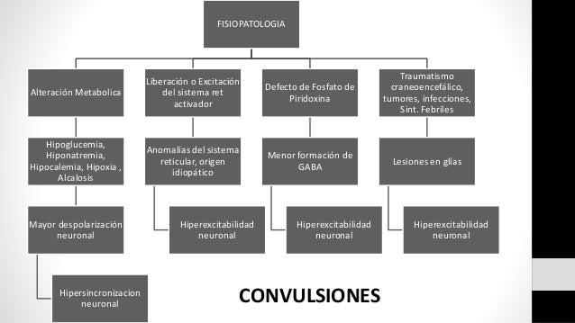 FISIOPATOLOGIA Alteración Metabolica Hipoglucemia, Hiponatremia, Hipocalemia, Hipoxia , Alcalosis Mayor despolarización ne...