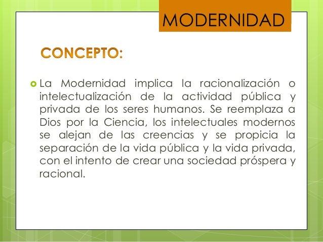 CONCEPTO DE MODERNIDAD EPUB