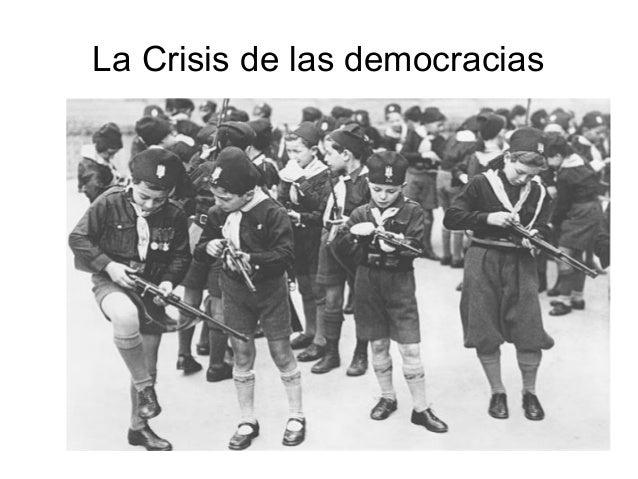 La Crisis de las democracias