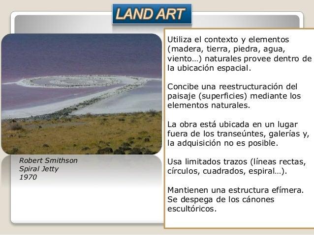 Utiliza el contexto y elementos (madera, tierra, piedra, agua, viento…) naturales provee dentro de la ubicación espacial. ...