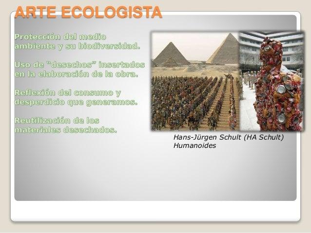 ARTE ECOLOGISTA Hans-Jürgen Schult (HA Schult) Humanoides