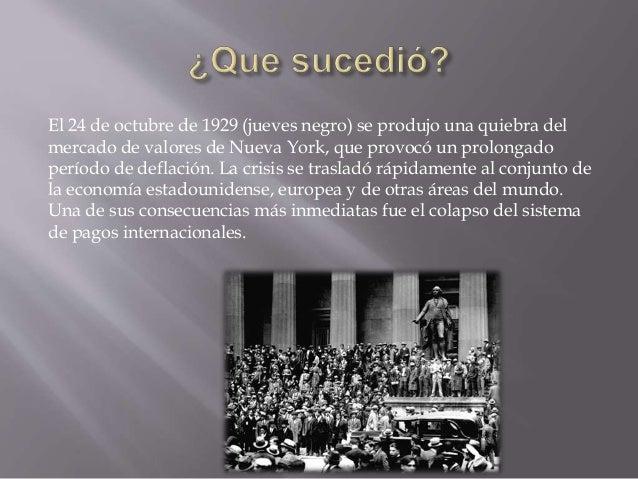 Crisis económica de 1929 y su impacto en Chile