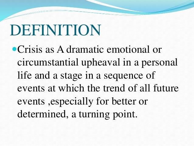 future trend of crisis intervention essay