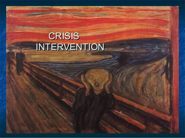 Barry Kidd 2010 1 CRISISCRISIS INTERVENTIONINTERVENTION
