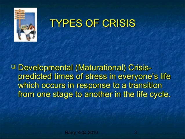 What Is Maturational Crisis