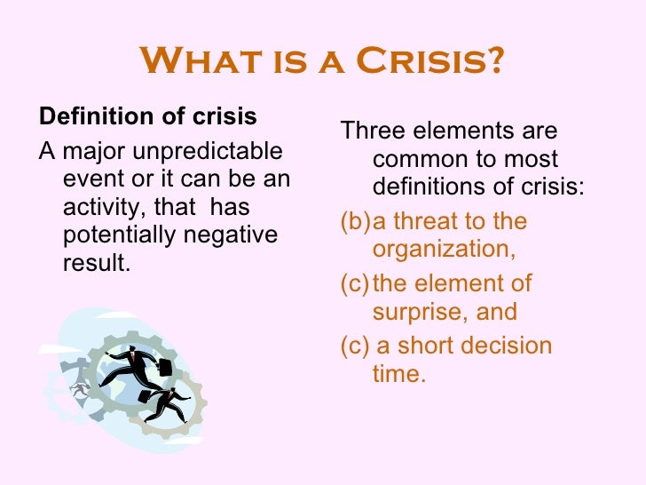 Crisis management plan template