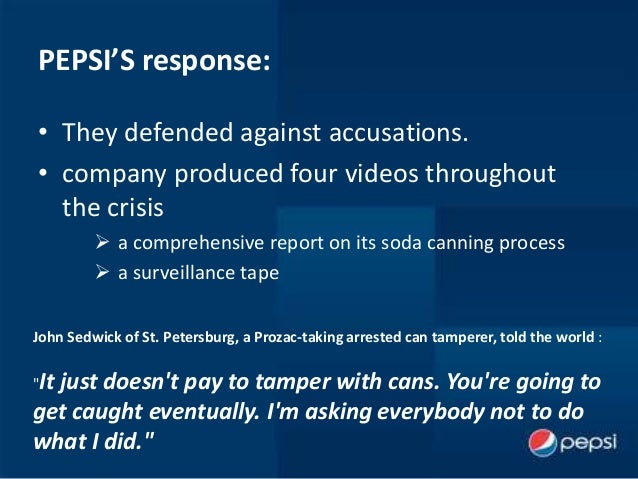 coca cola comany ethical crisis Monica m simpson case study – coca cola twitter message response comm 642 – crisis management and strategies july 18, 2013  coca cola  background: coca-cola company was created in 1886 by an atlanta pharmacist by the name of james pemberton (coca-cola history, online) in the first year the drink was sold to the public only 9 classes per day were purchased.