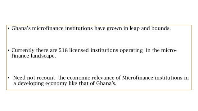 microfinance institutions in mediterranean countries Read this article on questia academic journal article journal of business economics and management governance and performance of microfinance institutions in mediterranean countries.