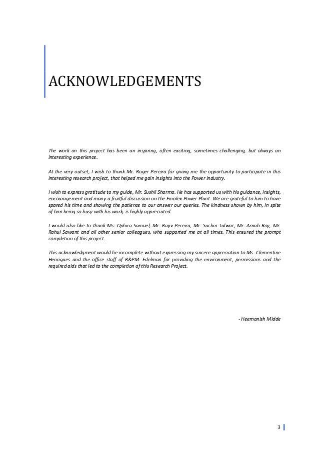 crisis management finolex powerplant heemanish midde 4