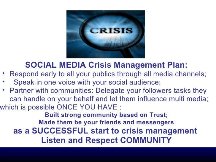 crisis management plan National forum of educational administration and supervision journal volume 27, number 4, 2010 1 the crisis management plan: promoting school safety.